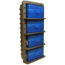 MTM Ammo Rack with 4 Ammo Boxes