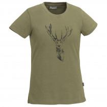Pinewood Women's T-Shirt Red Deer