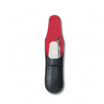 Victorinox Knife Pouch With Red, Lined Interior
