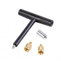 Thompson Center T-Handle Short Starter With 2 Universal Loading Tips, 10-32 Threads