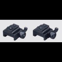 Recknagel Weaver mount for Schmidt & Bender Convex rail, lever