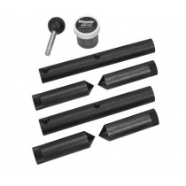 Wheeler Scope Ring Alignment and Lapping Kit Combo