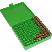 MTM Ammo Box 9mm 380ACP 100 rd Flip