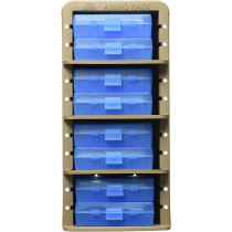 MTM Ammo Rack with 8 Ammo Boxes