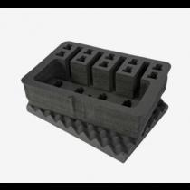 Nanuk 925 Insert Foam for 4UP Pistol Case