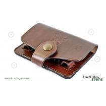 Blanc Bullet Holder Case 6K, real leather