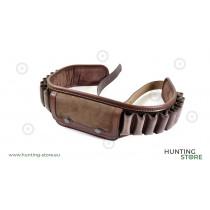 Blanc Cartridge Belt 18 + 10P, real leather