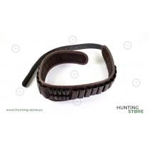 Blanc Cartridge Belt 20 + 10P, real leather
