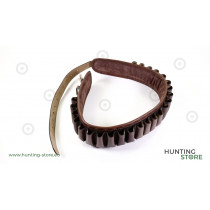 Blanc Cartridge Belt 24P 135 cm, real leather
