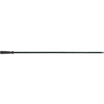 Megaline One Piece Cleaning Rod Plastic Coated Steel, Long