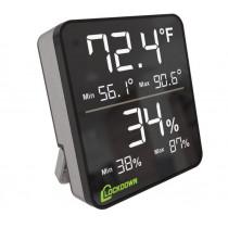 Lockdown Digital Hygrometer