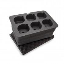 Nanuk 918 Foam Insert for 6-lenses