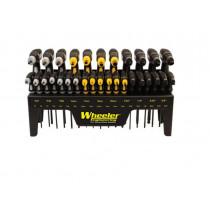 Wheeler 30 Piece Sae, Metric, Hex and Torx P-Handle Set