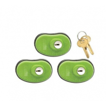 Lockdown Keyed Trigger Lock, 3-Pack