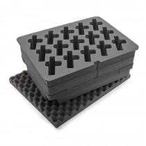 Nanuk 950 Foam Insert for 15 Up Gun Case