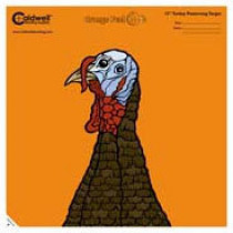 """Caldwell Orange Peel Turkey Target: 12"""""""