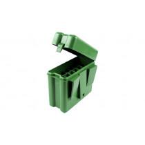 MTM Ammo Box 270Win, 7mmMAG 20rd Belt, Forest Green #RL-20-10