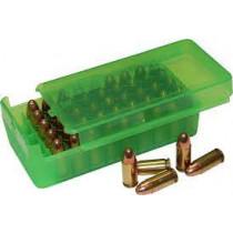 MTM Ammo Box 9mm 380ACP 50rd Slide