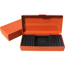 MTM Ammo Box 100 rd. 22 Long Rifle Rimfire Competition