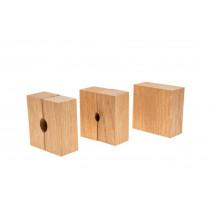 Wheeler Set of 3 Replacement Oak Bushings