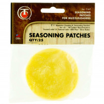 Thompson Center Cleaning & Seasoning Patches, 25 Pieces