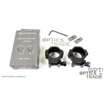 Vector Optics X-ACCU Picatinny Rings, 30mm